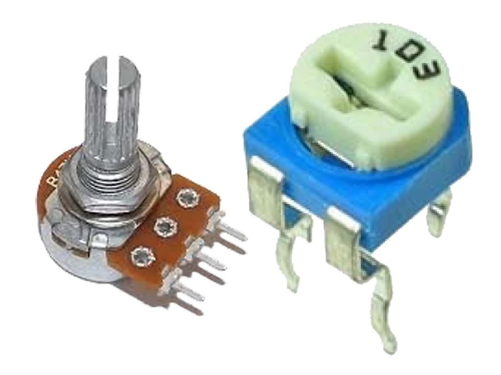 রেজিস্টার কত প্রকার Variable resistor jpg