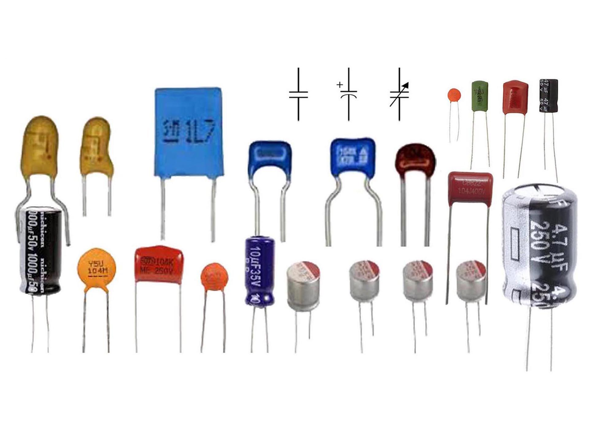 all types capacitor