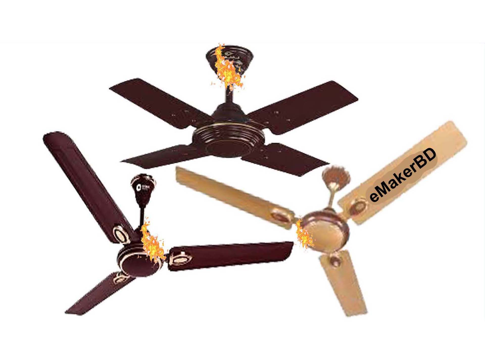 ceiling fan problem Solution