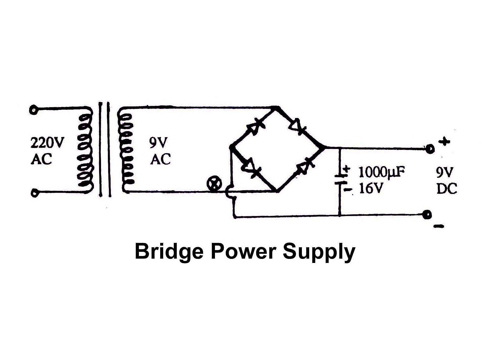 Bridge Power Supply Diagram