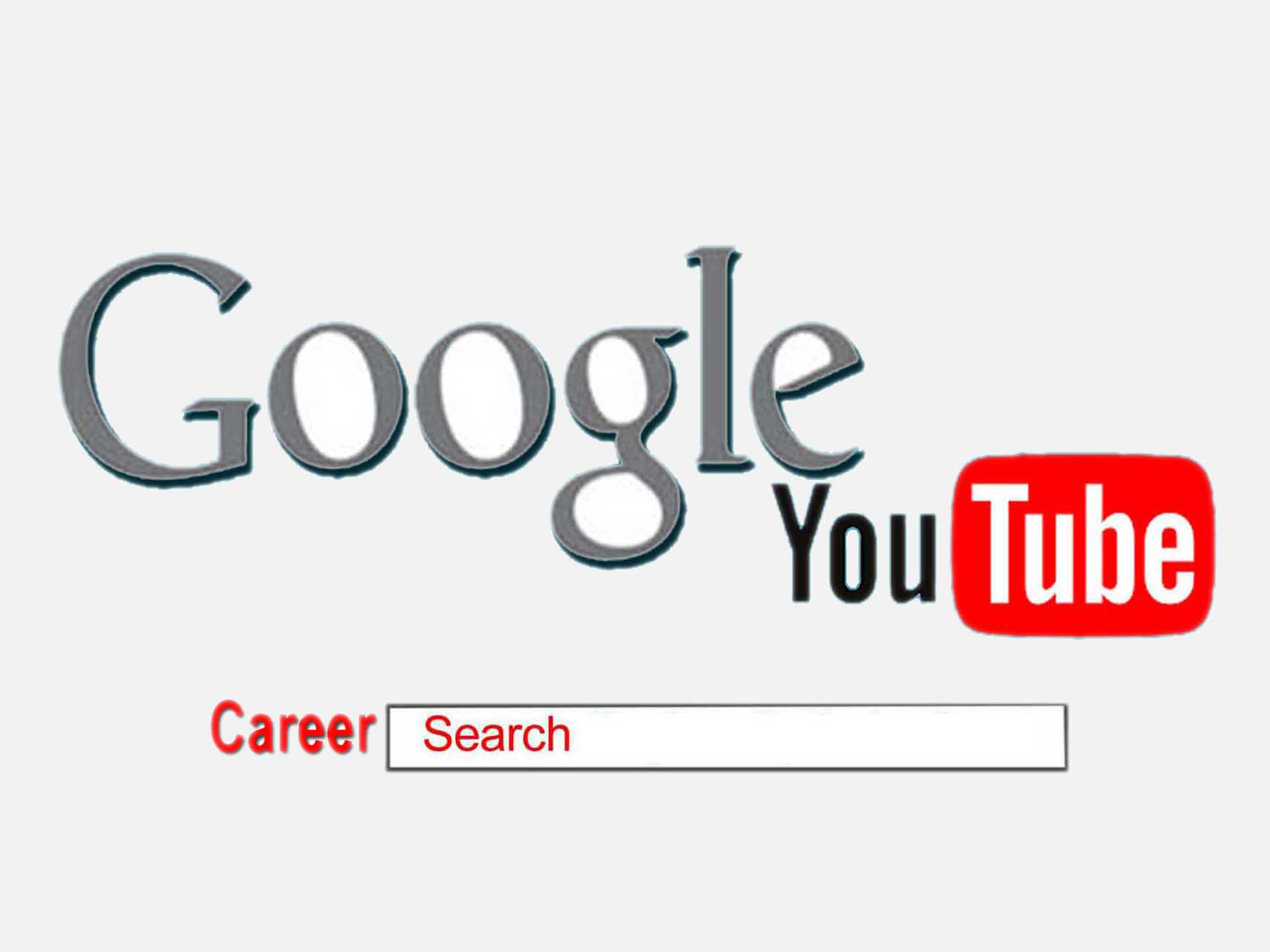 Google youtube use for career