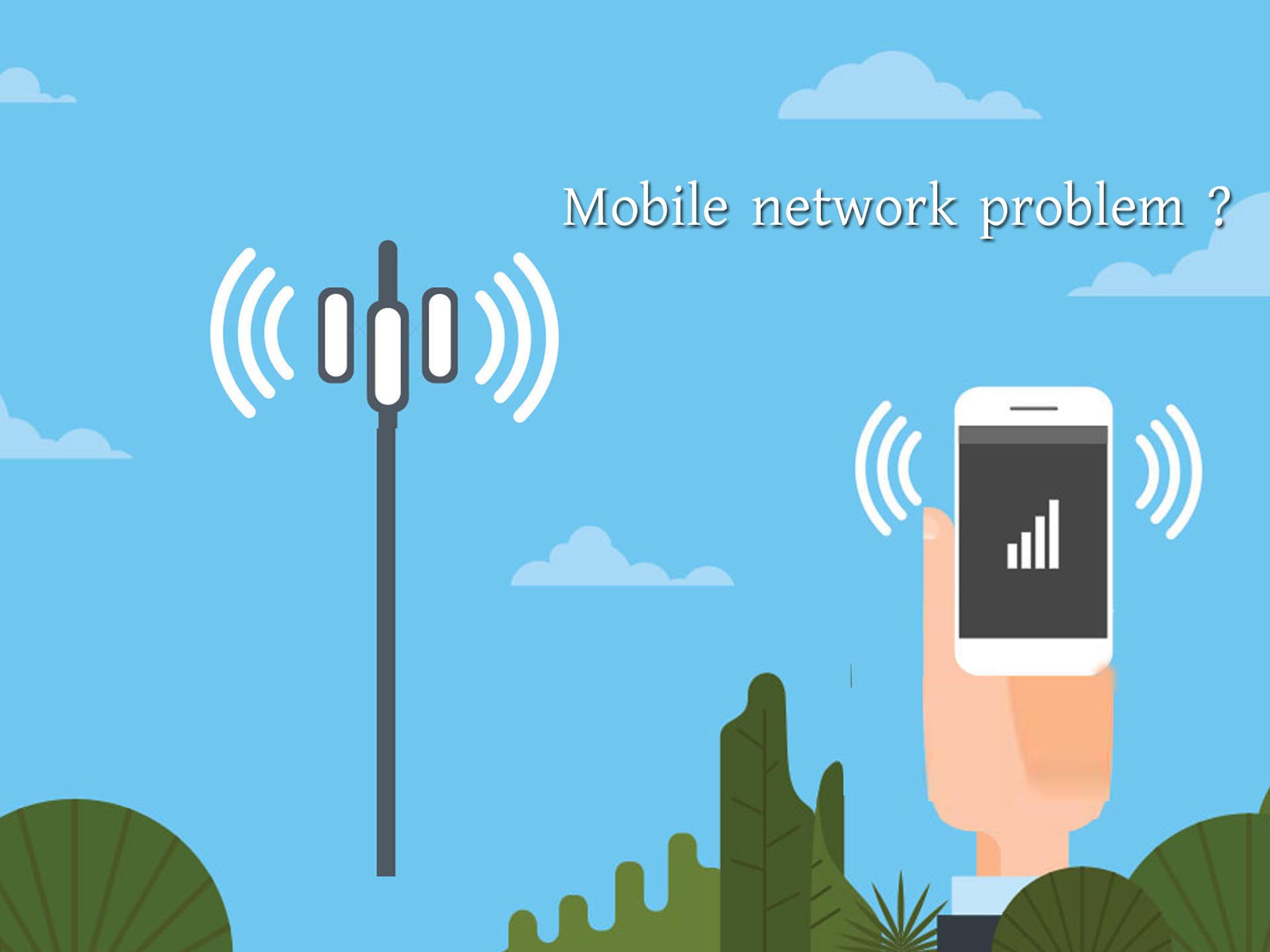 how to fix mobile network problem