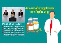 Medicine with sales representative