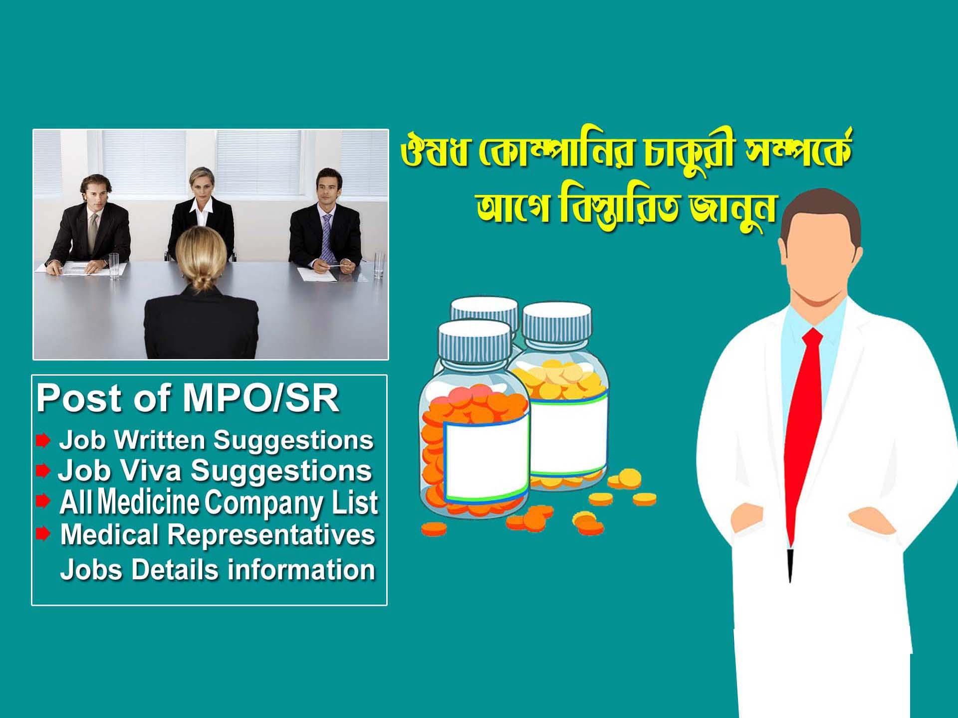 Medicine with sales representative