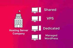 type of hosting server