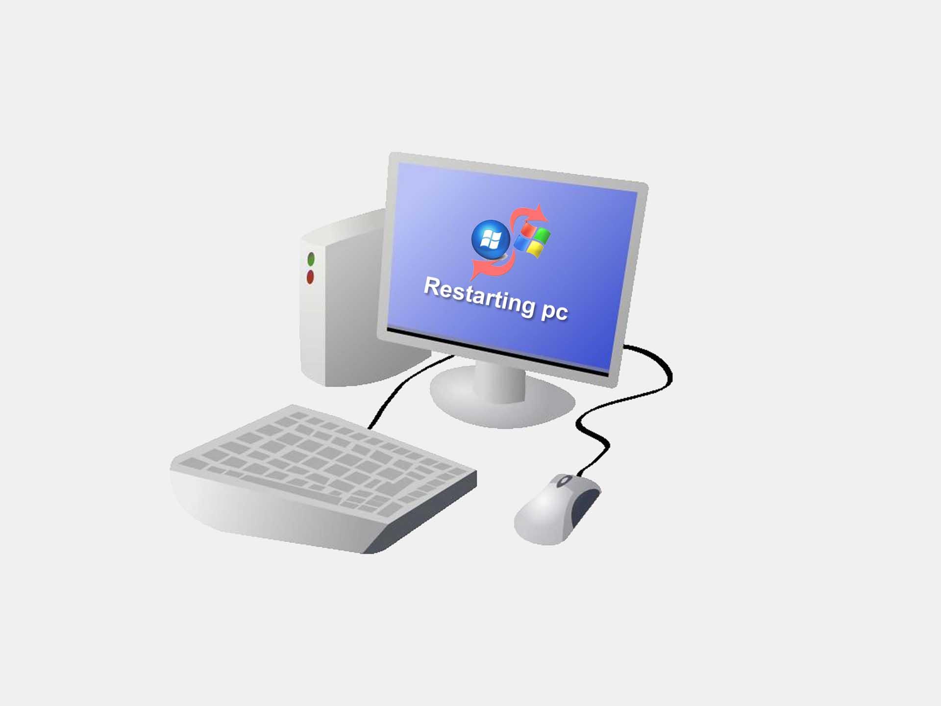 Computer restarting solution- পিসি কম্পিউটার রিস্টার্ট